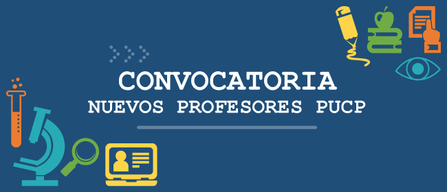 Banner convocatoria nuevos docentes