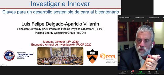 Inició el Encuentro Anual de Investigación PUCP 2020