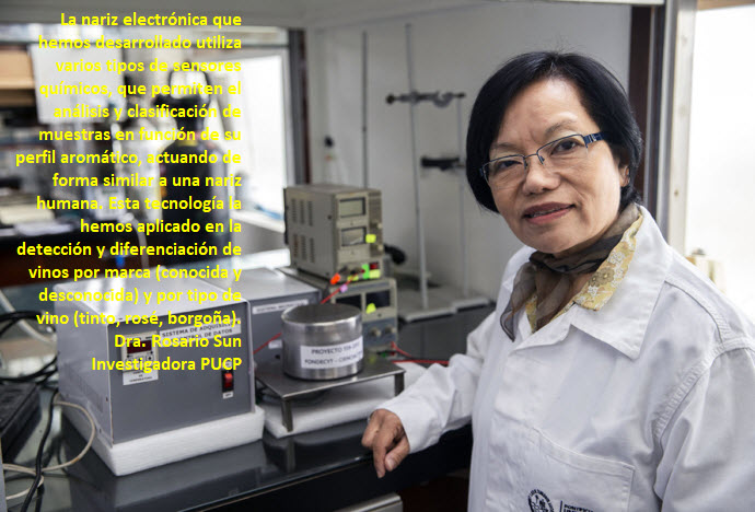 Nariz electrónica desarrollada por la PUCP y la UNI obtuvo una patente de modelo de utilidad de Indecopi