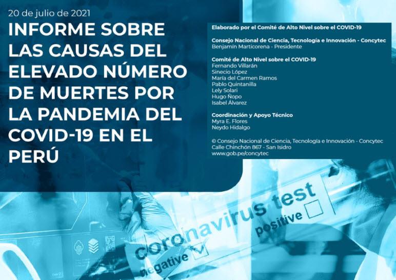 Causas de la alta mortalidad por Covid-19 en el Perú
