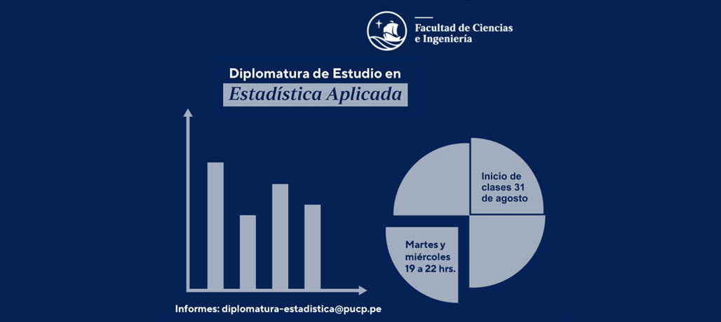 Diplomatura en Estadística Aplicada, próxima a iniciar - Inscripciones