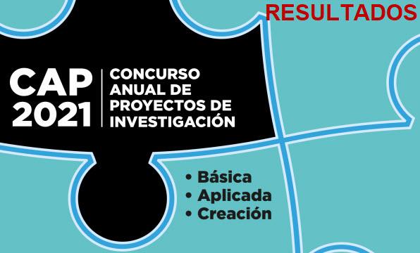 Concurso Anual de Proyectos de Investigación 2021 - Resultados