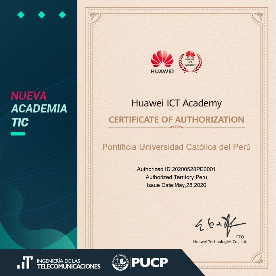 Huawei PUCP