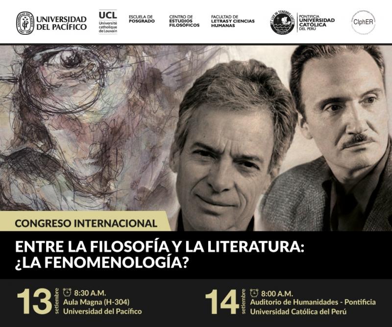 «Entre la filosofía y la literatura: ¿la fenomenología?»