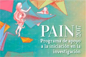 Alumnos de la Especialidad de Historia ganadores del PAIN