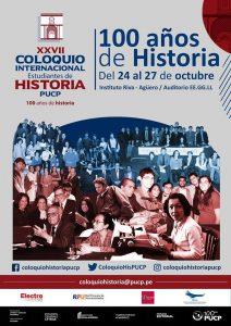 XXVII Coloquio Internacional de Estudiantes de Historia PUCP