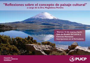 Charla | Reflexiones sobre el concepto de paisaje cultural