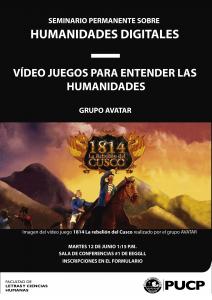 Vídeo juegos para entender las Humanidades