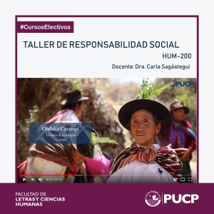 Taller de responsabilidad social | (HUM-200)