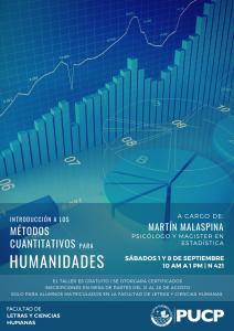 Introducción a los métodos cuantitativos para humanidades
