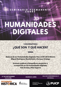 Humanidades Digitales: ¿Qué son y qué hacen?