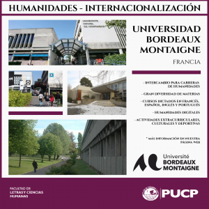 Intercambio en la Universidad Bordeaux Montaigne