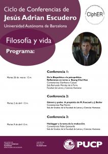 Ciclo de Conferencias de Jesús Adrian Escudero | Filosofía y Vida