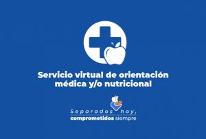 Haz tus consultas virtuales sobre salud y nutrición