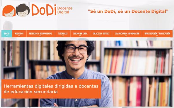 DoDi, sitio web con herramientas y recursos para docentes de educación secundaria