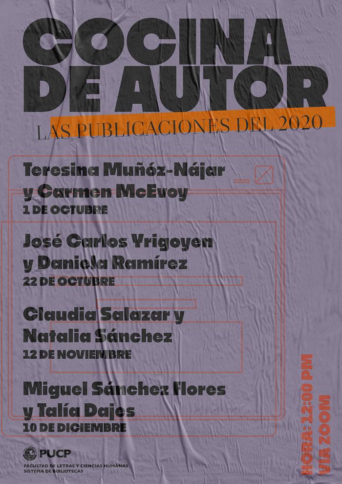 Cocina de autor | Las publicaciones del 2020