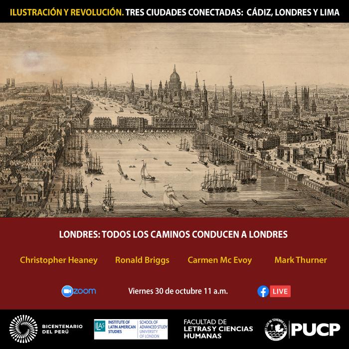 Ilustración y Revolución. Tres ciudades conectadas: Cádiz, Londres y Lima