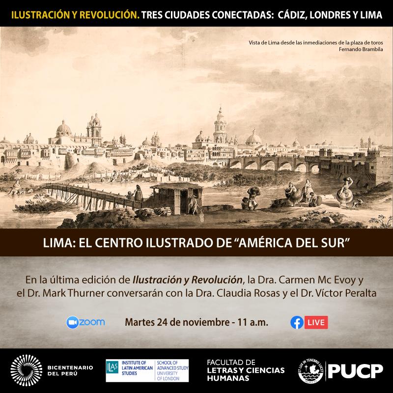"""LIMA: EL CENTRO ILUSTRADO DE """"AMÉRICA DEL SUR"""""""