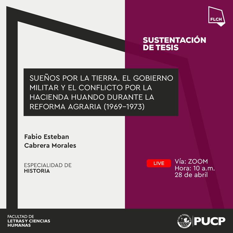 Sustentación de tesis | Fabio Esteban Cabrera Morales