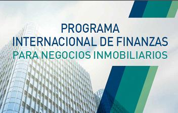 Programa Internacional de Finanzas para Negocios Inmobiliarios