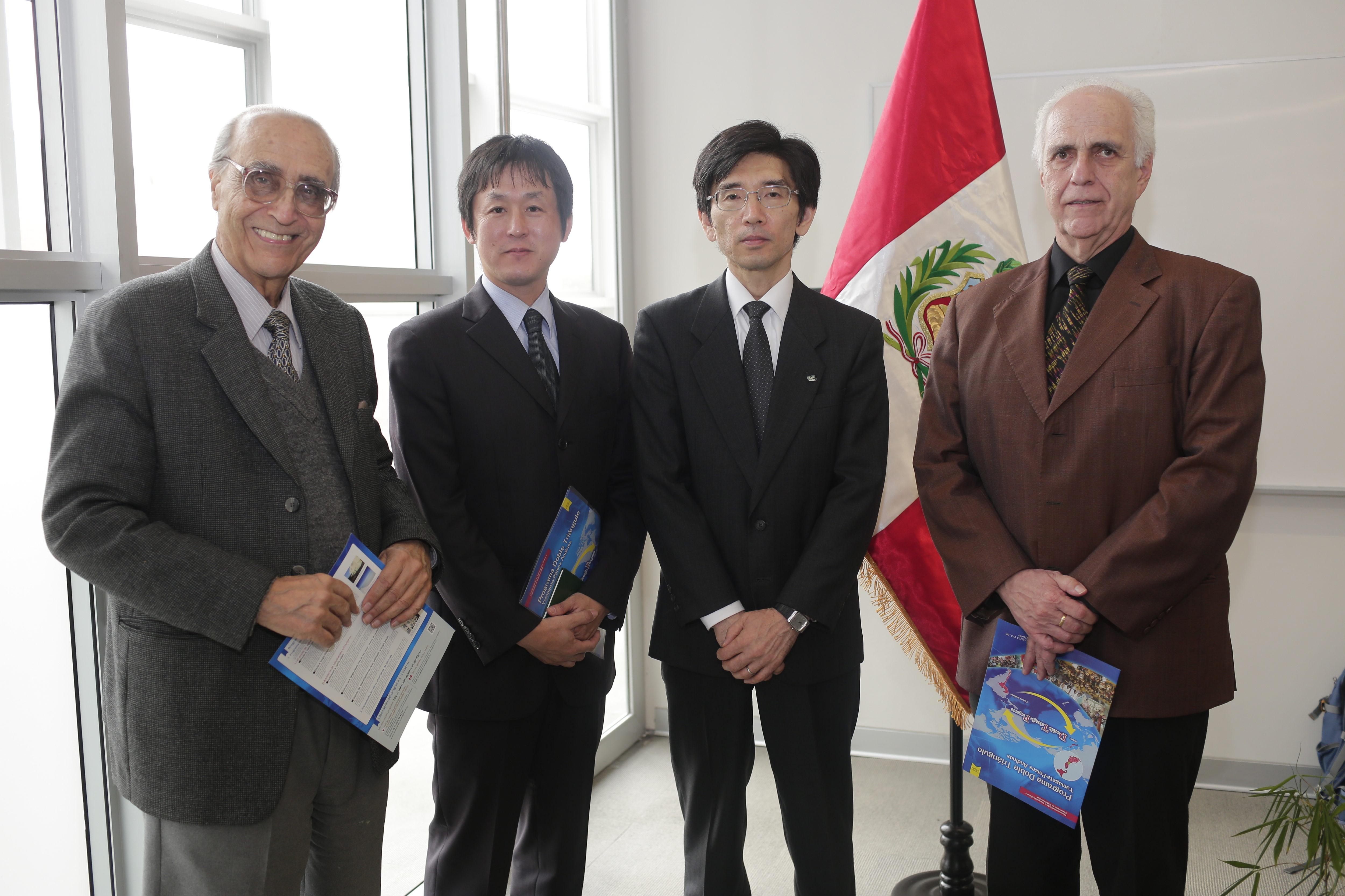 La Universidad de Yamagata inauguró oficina satélite en la PUCP
