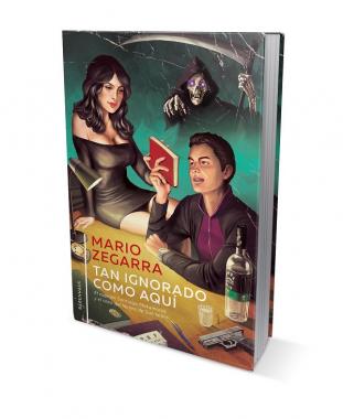 Foto de la portada del libro de Mario Zegarra