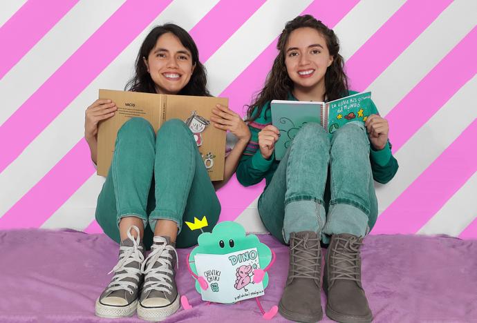 """El proyecto """"Cuentos detrás de la puerta"""", de nuestras egresadas Luciana y Fabiana Caballero, ganó el """"Reto InnovaCovid-19"""""""
