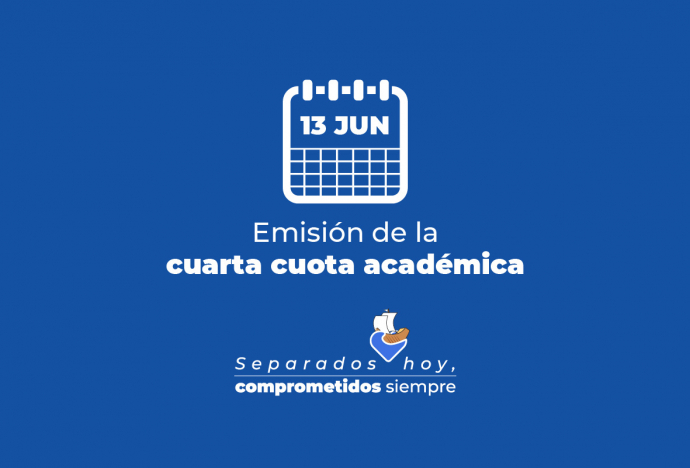 Emisión de la cuarta cuota académica 2020-1
