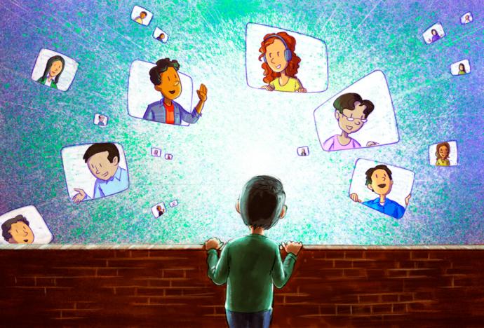 ¿La socialización virtual nos llega a todos por igual?