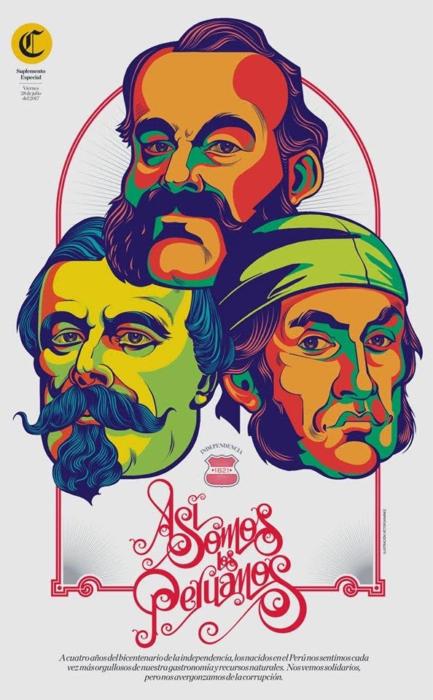 'Así somos los peruanos' de Víctor Sanjinez