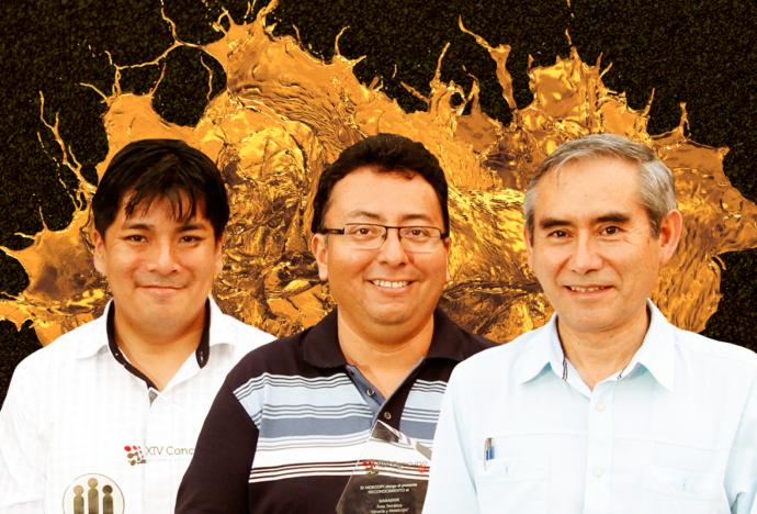 Investigadores PUCP obtuvieron patente de invención por tecnología que recupera el oro de yacimientos no explotados