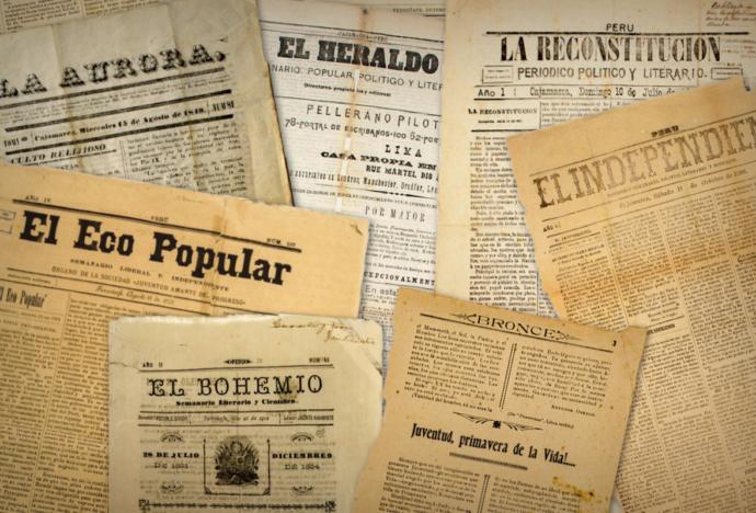 Natalia Sobrevilla presenta repositorio digital de periódicos regionales del s. XIX y s. XX