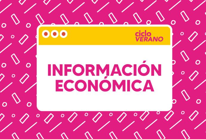 Información económica sobre el Ciclo de Verano 2021 y otras fechas importantes