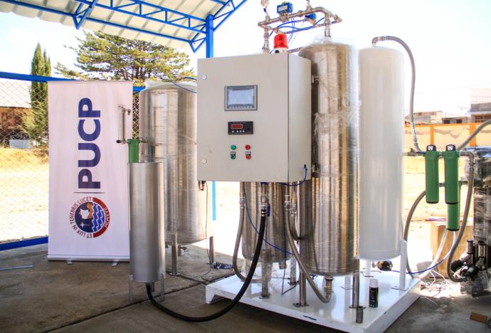 Plantas generadoras de oxígeno medicinal de la PUCP están listas para ayudar en la lucha contra la pandemia